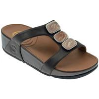 Schuhe Damen Sandalen / Sandaletten FitFlop Pietra due slide ciabatta fascia sandale