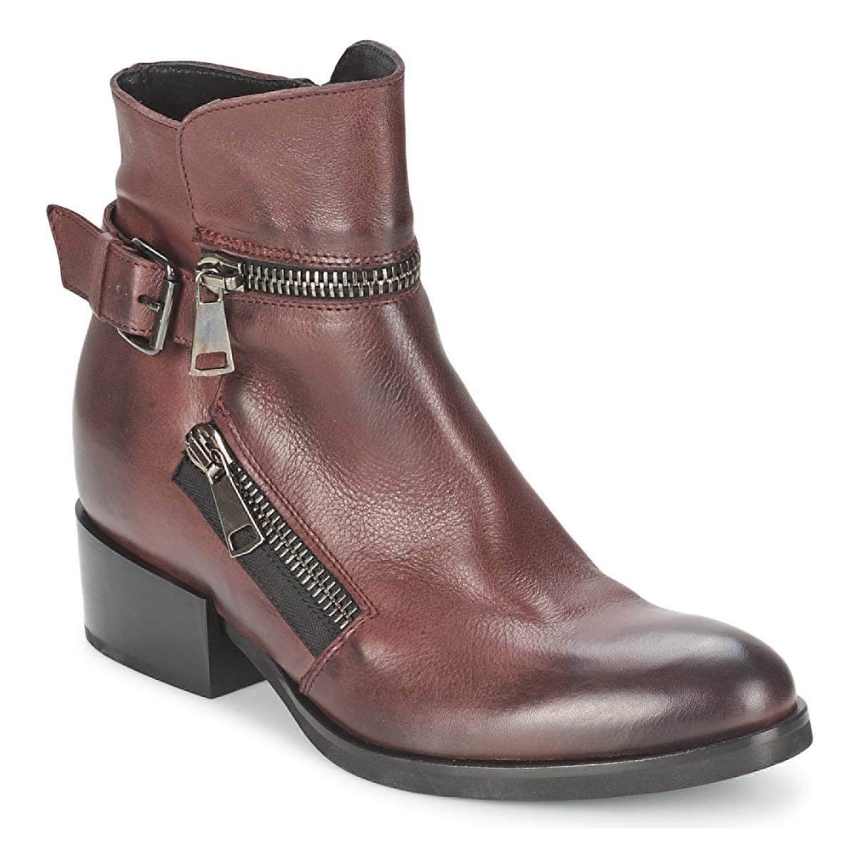 Strategia ZOOLI Bordeaux - Kostenloser Versand bei Spartoode ! - Schuhe Low Boots Damen 182,00 €