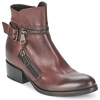 Schuhe Damen Low Boots Strategia ZOOLI Bordeaux