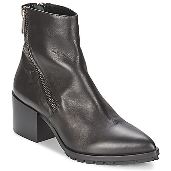 Schuhe Damen Low Boots Strategia LYIR Schwarz