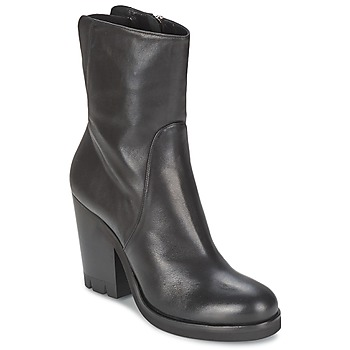 Schuhe Damen Low Boots Strategia GUANTO Schwarz