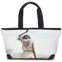 Taschen Damen Shopper / Einkaufstasche Kothai MICRO GIRL Schwarz / Grau