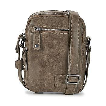 Taschen Herren Geldtasche / Handtasche Wylson LUCAS 2 Braun