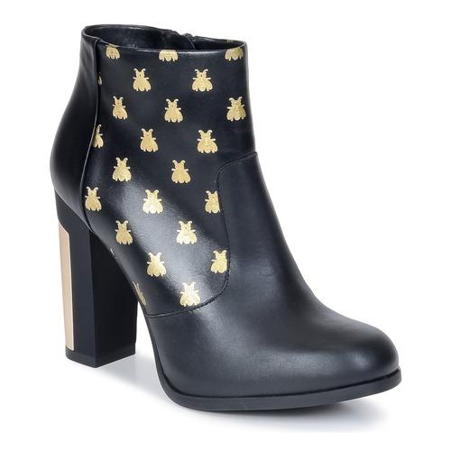 Miista ALAYNA Schwarz  Schuhe Low Boots Damen 117