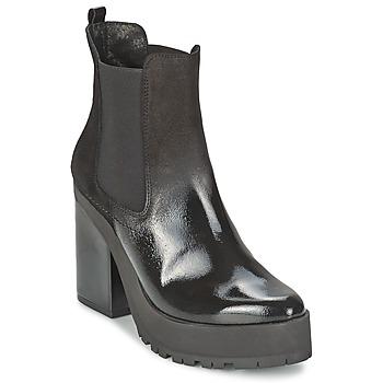 Schuhe Damen Low Boots Miista YOLANDA Schwarz