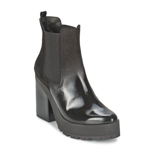 Miista YOLANDA Schwarz Schuhe Low Boots Damen 131