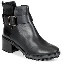 Schuhe Damen Low Boots Miista GRETA Schwarz