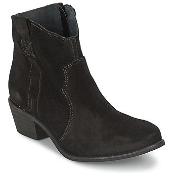 Schuhe Damen Low Boots Shoe Biz BROPE Schwarz