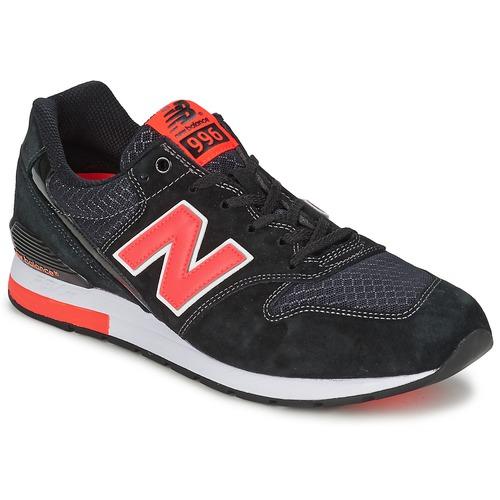 Schuhe Sneaker Low New Balance MRL996 Schwarz / Rot