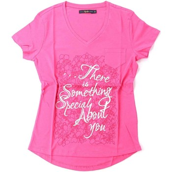 Kleidung Damen T-Shirts Key Up S23I 0001 T-shirt Frauen Pink
