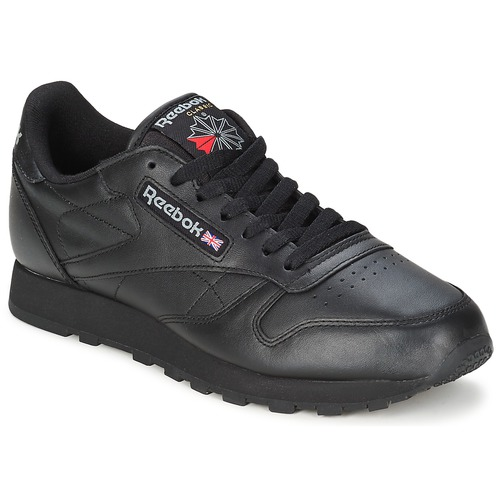 Schuhe Sneaker Low Reebok Classic CL LTHR Schwarz