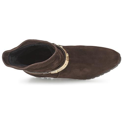 Alberto Gozzi VELOUR PEPE Braun  Schuhe Low Boots Damen 263,20
