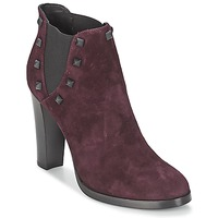 Schuhe Damen Low Boots Alberto Gozzi CAMOSCIO NEIVE Bordeaux