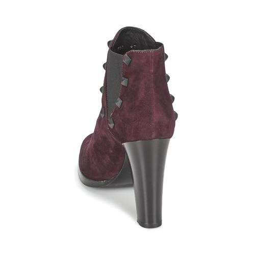 Alberto CAMOSCIO Gozzi CAMOSCIO Alberto NEIVE Bordeaux  Schuhe Low Stiefel Damen 0b7989