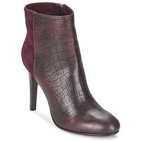 Schuhe Damen Low Boots Alberto Gozzi GRINGO MANDORLA Bordeaux