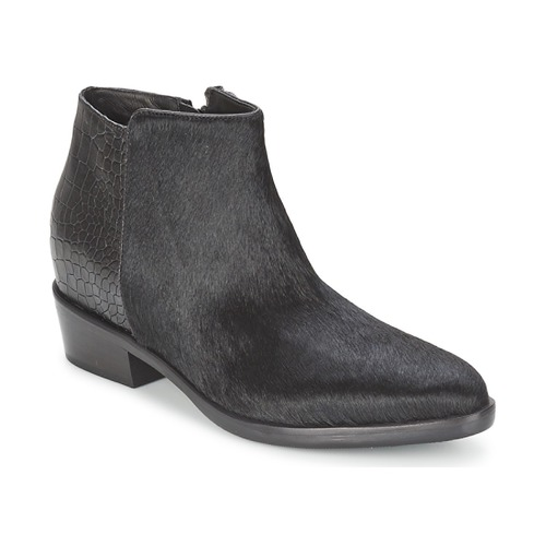 Stiefelletten / Boots Alberto Gozzi PONY NERO Schwarz 350x350