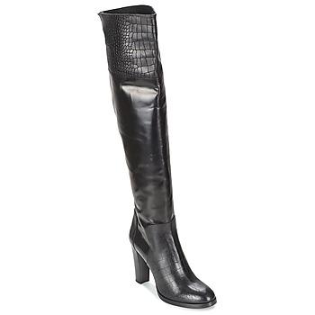 Schuhe Damen Klassische Stiefel Alberto Gozzi GRINGO NERO Schwarz