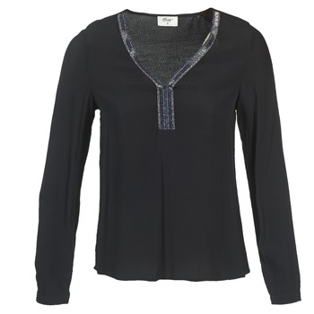 Kleidung Damen Tops / Blusen Betty London FALINDI Schwarz