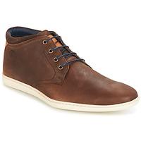 Schuhe Herren Sneaker High Casual Attitude CALER Braun
