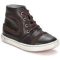 Schuhe Jungen Boots Tartine Et Chocolat JR URBAIN Schokolade