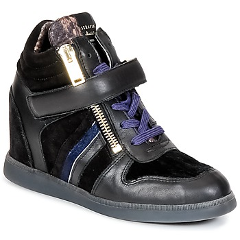 Schuhe Damen Sneaker High Serafini LEXINGTON Schwarz