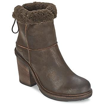 Schuhe Damen Low Boots OXS MUCELAGO Braun