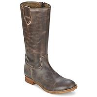 Schuhe Damen Klassische Stiefel Hip GUELINE Braun