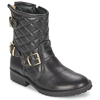 Schuhe Mädchen Boots Hip RAVUTE Schwarz