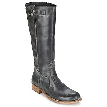 Schuhe Damen Klassische Stiefel Hip BIDILLE Schwarz