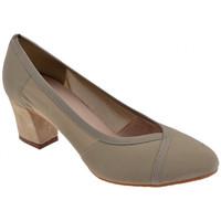 Schuhe Damen Pumps Keys ElastischeFerseSchuhCourt50plateauschuhe Grau