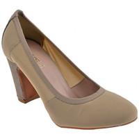 Schuhe Damen Pumps Keys StretchT.70CourtSchuhistplateauschuhe Grau