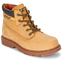 Schuhe Kinder Boots Caterpillar COLORADO PLUS Honig