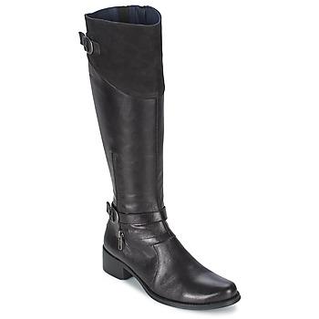 Schuhe Damen Klassische Stiefel Dorking DULCE Schwarz
