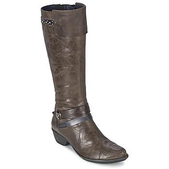 Schuhe Damen Klassische Stiefel Dorking NINA Grau