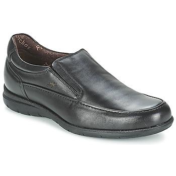 Schuhe Herren Slipper Fluchos LUCA Schwarz