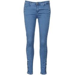 Kleidung Damen Slim Fit Jeans Acquaverde ALFIE Blau