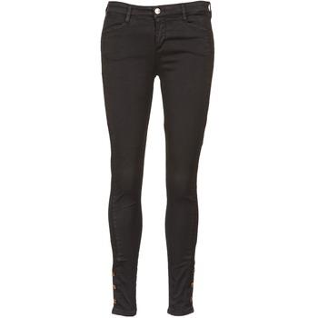 Kleidung Damen Slim Fit Jeans Acquaverde ALFIE Schwarz