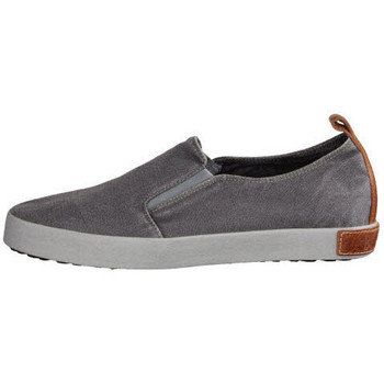 Schuhe Herren Slip on Blackstone NV steel grey