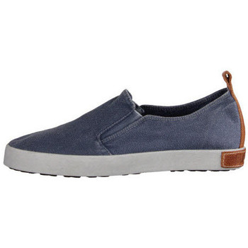 Schuhe Herren Slip on Blackstone NV indigo