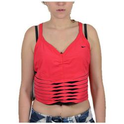 Kleidung Damen Tops Nike Top palestra t-shirt