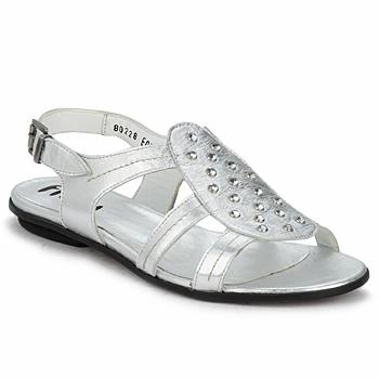 Sandalen / Sandaletten Fidji BARRETA Silber 350x350