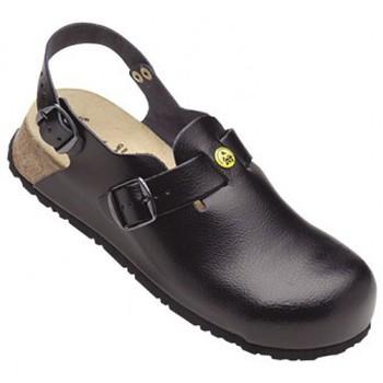 Schuhe Herren Pantoletten / Clogs Weeger ESD Clog m.Schutzkappe Art. 48505 schwarz