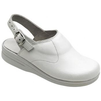 Schuhe Herren Pantoletten / Clogs Weeger Küchenclog Art. 48621 weiß