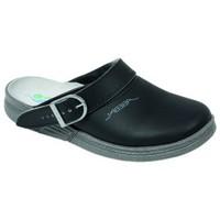 Schuhe Herren Pantoletten / Clogs Abeba Küchenclog Art. 7021/7031 schwarz