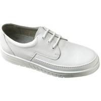 Schuhe Herren Slipper Abeba Schnürer Art. 2600w/2610sw weiß