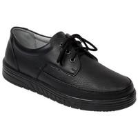 Schuhe Herren Slipper Abeba Schnürer Art. 2600w/2610sw schwarz