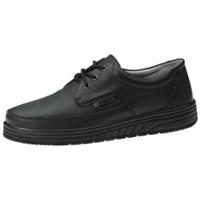 Schuhe Halbschuhe Abeba Schnürer  2610 schwarz