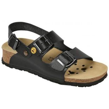 Schuhe Herren Sandalen / Sandaletten Weeger ESD-Sandale Art. 45125 schwarz