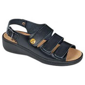 Schuhe Damen Sandalen / Sandaletten Weeger ESD-Sandale 15332 schwarz