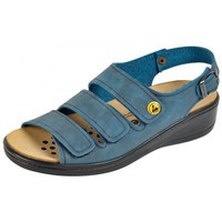 Schuhe Damen Sandalen / Sandaletten Weeger ESD-Sandale 15332 blau